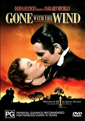 Gone With The Wind 1939 Vivien Leigh Dvd New Sealed R4