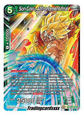 ♦Dragon Ball Super♦ Son Goku, Affrontement final : TB3-035 SR -VF-