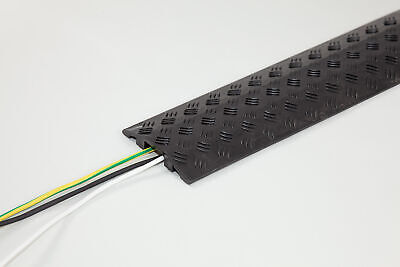 20mm High Black Cable Cover
