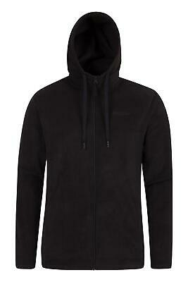 Mountain Warehouse Camber Mens Microfleece Hoody - Quick Drying & Antipill
