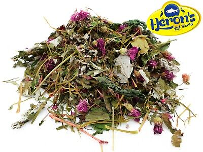 HERONS Flower and Herb Mix PREMIUM HAY - GUINEA PIG CHINCHILLA RABBIT FOOD