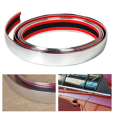 Car-Chrome Styling Tape Decoration Line Moulding Trim DIY Adhesive 20mm x 3m/_Ig