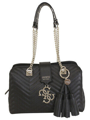 GUESS WOMEN'S KINGSLEY Powder Girlfriend Satchel Handbag