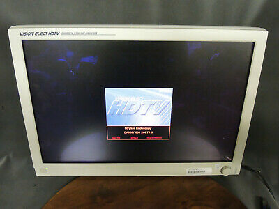"""Stryker 26"""" Vision Elect HDTV Surgical Veiwing Monitor 240030960 240-030-960"""