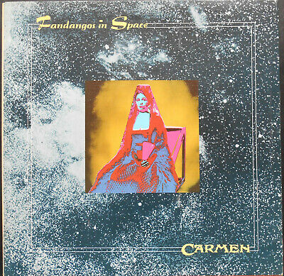 CARMEN FANDANGOS IN SPACE LP French 1974 REGAL ZONOPHONE  ex