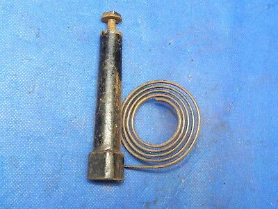 """Antique Vintage Clock Coil Gong Bell Wire Chime - Spring diameter 2-1/4"""""""
