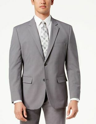 $300 Nautica 38 R Men'S Gray 2 Button Fit Suit Jacket Blazer Sport Coat