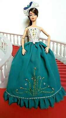 OOAK outfit dress for Silkstone Vintage Barbie Fashion Royalty handmade