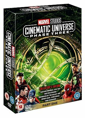Marvel Studios Cinematic Universe: Phase Three - Part One (DVD 5 DISC) *NEW*