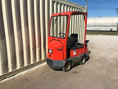 (2)TAYLOR-DUNN 48V Huskey Electric Tow Tractors 2011 & 1998