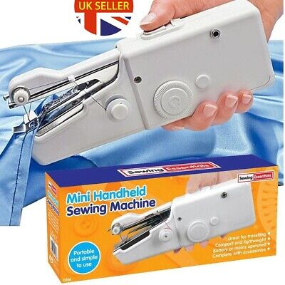 Portable Handheld Cordless Electric Mini Sewing Machine And Sewing Kit