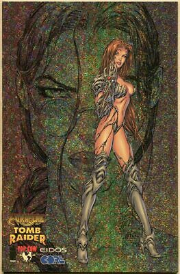 Witchblade/Tomb Raider #1 - NM- - Gold Sparkle Cover