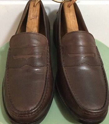 58f0192dda2 MEN S COLE HAAN GRAND .OS PINCH MAINE CLASSIC LEATHER LOAFERS SHOES Sz 10M