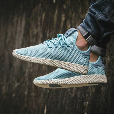 97ad4d550ee17 NEW ADIDAS ORIGINALS Human HU PW Tennis Ice Blue CP9764 ALL SIZES ...