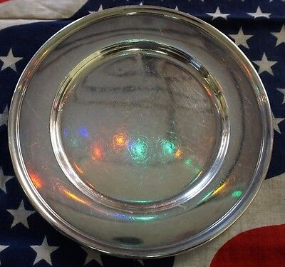 "Antique Wallace Sterling Silver 925 2899 6"" Butter Plate 79g"