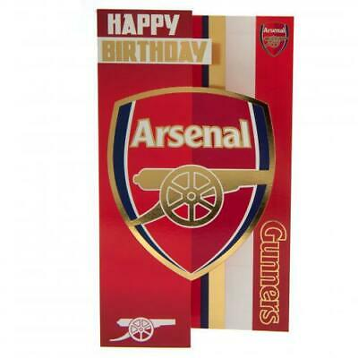 Arsenal FC Gunners Happy Birthday Card Present Gift Xmas New