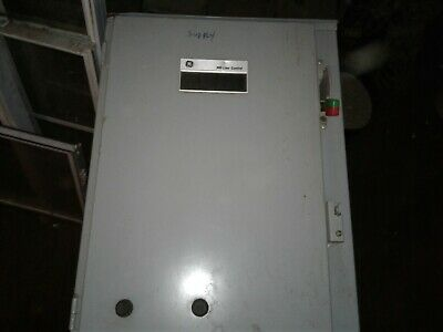 GE Size 2 Enclosed Combination Starter 2 Speed Nema 3R