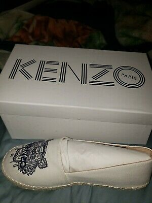 22bf290bb5 KENZO TIGER ESPADRILLES 'Holiday Capsule White (38) Womens size US 8
