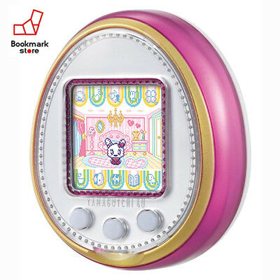 New Bandai Tamagotchi 4U Pink with Tracking Digital Pet Toy from Japan Original