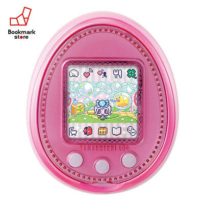 New Bandai Tamagotchi 4U+  Babypink with Tracking Digital Pet Toy Japan Original