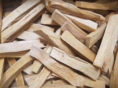 1KG PREMIUM Palo Santo thin holy wood sticks ETHICALLY harvested in Peru