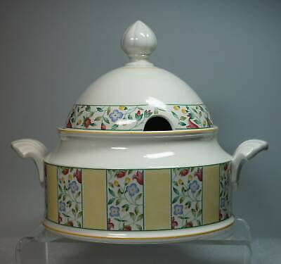 Original Villeroy & Boch Vitro Porzellan Virginia Suppenterrine Schüssel Deckel