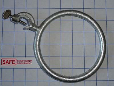 "Lab Stand Support Ring 6"" Diameter w/ Boss Head Clamp Plated Cast Iron MM-442"