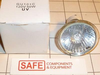 GU10+C Replacement Halogen Lamp 120V 50W Silver Reflector Projection Bulb G56