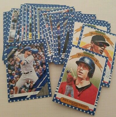2019 Donruss INDEPENDENCE DAY PARALLELS -Complete your set! You Pick From List!