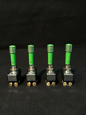 Toggle Switch Extension Powdered Coated Avocado Green Aluminum Billet Hydraulic