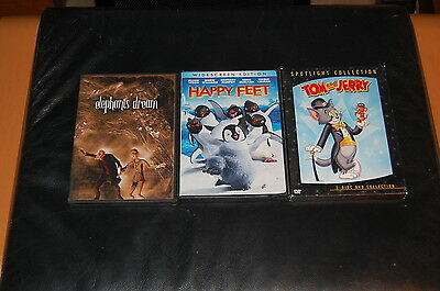 DVD LOT - cartoons and animation