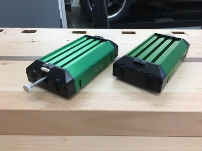 Dynamics Carts (pair) with mass and friction pad - Vernier - Works with PASCO