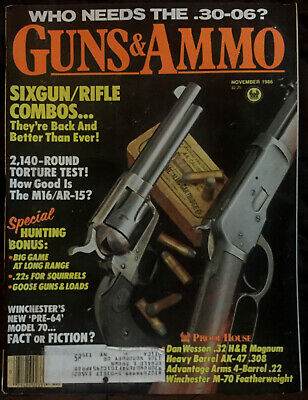 VINTAGE MAGAZINE GUNS & AMMO July 1979 ! BROWNING Model 92