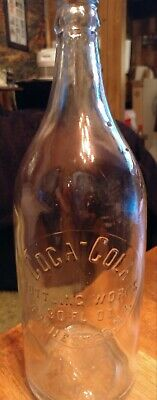 Circa 1910-1915 Rochester N Y A L Anderson 30 Oz Straight Sided Coca-Cola Bottle