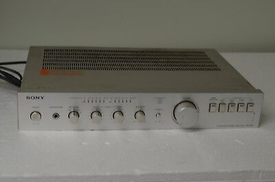 Sony Integrated Stereo Amplifier TA-F40