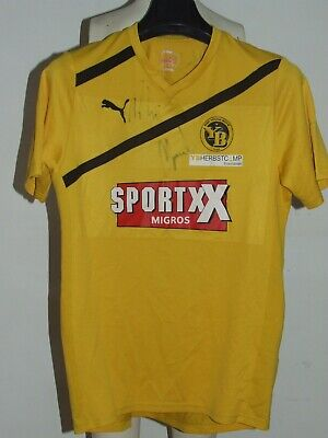 Soccer Jersey Trikot Maillot Camiseta Sport Young Boys Signed Size