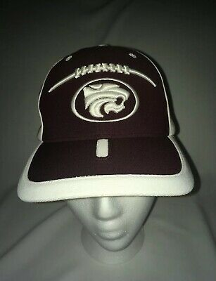 new products 1b30f 9d251 VINTAGE K STATE WILDCATS KANSAS STATE UNIVERSITY Football HAT BALL CAP  SPORTS