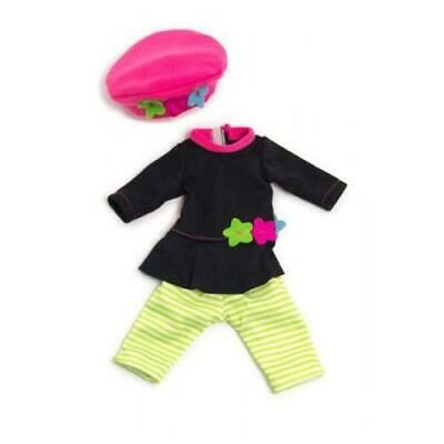 Miniland Doll Clothes Stripey Leggings Winter Set 32cm