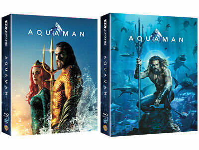 Aquaman - 4K UHD & Blu-ray Steelbook Full Slip, Lenticular Edition