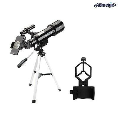 Refractor Astronomical Telescope 40070mm Optical Lens With Tripod Phone Adapter