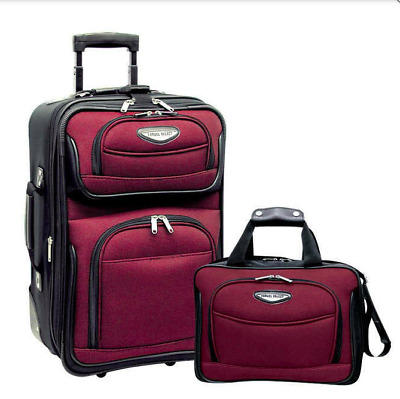 Traveler's Choice Travel Select Amsterdam 2 Piece Carry-On Luggage Set