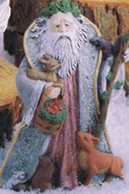 Ceramic Bisque Woodland Santa Kimple Mold 1783 U-Paint Ready To Paint