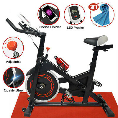 Pro Stationary Exercise Bike Cycling Bicycle Running Cardio Workout GYM Home