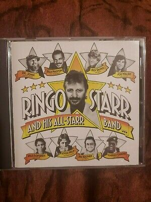 RINGO STARR AND HIS ALL STAR BAND CD 1990 Ryko No UPC