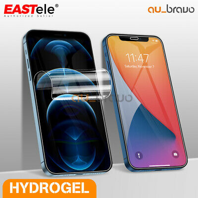 EASTele Apple iPhone XS MAX XR X 8 7 6s Plus HYDROGEL AQUA FLEX Screen Protector