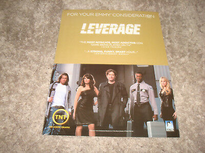 LEVERAGE Emmy ad Timothy Hutton, Gina Bellman & MEMPHIS BEAT Jason Lee