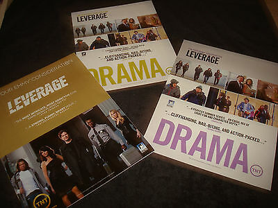 LEVERAGE 3 Emmy ads Timothy Hutton, Gina Bellman, Aldis Hodge