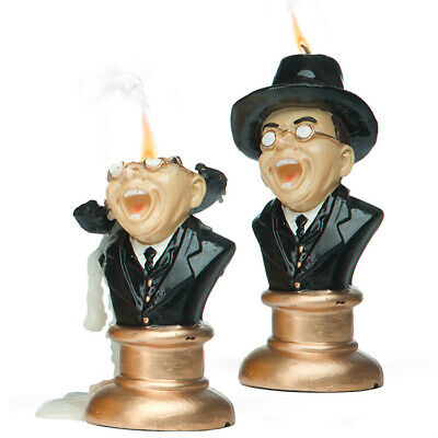 "Indiana Jones Raiders of the Lost Ark 6 1/2"" Melting Face Toht Nazi One Candle"