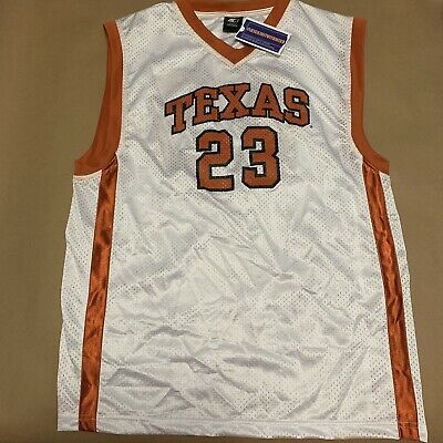 online store a0eb3 8304a VINTAGE STARTER UNIVERSITY of Texas Longhorns Basketball Jersey Mens Large  90s