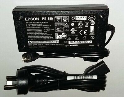 NEW Genuine Epson PS-180 Power Adapter( Model HH159B )  W/ Power Cord